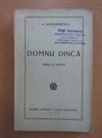 I. A. Bassarabescu - Domnu Dinca