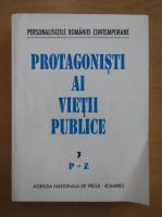 Anticariat: Protagonisti ai vietii publice (volumul 3, P-Z)