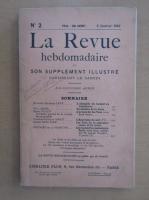 Anticariat: Revista La Revue hebdomadaire, nr. 2, ianuarie 1910