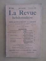 Anticariat: Revista La Revue hebdomadaire, nr. 44, octombrie 1909