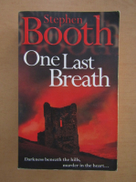Stephen Booth - One Last Breath