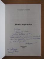 Anticariat: Constantin Voivozeanu - Hotelul suspiciunilor (cu autograful autorului)