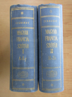Eckhardt Sandor - Magyar-Francia Szotar (2 volume)