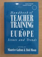 Anticariat: Handbook of Teacher Training in Europe