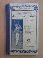 Anticariat: L'annee preparatoire de grammaire