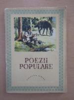 Poezii populare