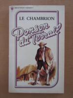 Anticariat: Ponson du Terrail - Le Chambrion