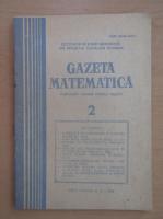 Anticariat: Revista Gazeta Matematica, anul LXXXIX, nr. 2, 1983
