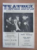 Anticariat: Revista Teatrul, nr. 4, aprilie 1984