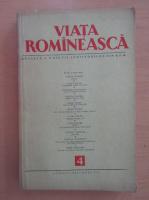 Anticariat: Revista Viata Romaneasca, anul VII, nr. 4, aprilie 1954
