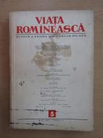 Anticariat: Revista Viata Romaneasca, anul X, nr. 5, mai 1957