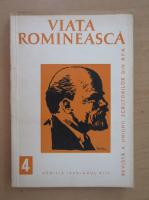 Anticariat: Revista Viata Romaneasca, anul XIII, nr. 4, aprilie 1960