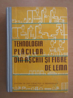 Anticariat: Tehnologia placilor din aschii si fibre de lemn