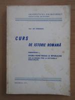 Anticariat: Em. Condurachi - Curs de istorie romana (fascicula 1)