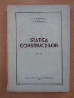 Anticariat: I. P. Procofiev - Statica constructiilor (volumul 3)