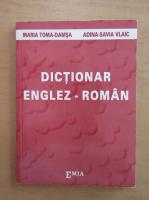 Maria Toma - Dictionar englez-roman