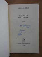 Anticariat: Nicolae Stan - Boare de Waterloo (cu autograful autorului)