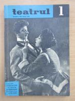 Anticariat: Revista Teatrul, anul VII, nr. 1, ianuarie 1962