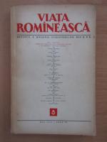 Anticariat: Revista Viata Romaneasca, anul IX, nr. 5, mai 1956