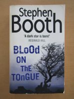 Stephen Booth - Blood on the Tongue