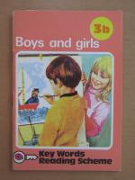 Anticariat: Boys and girls. Key Words Reading Scheme 3b