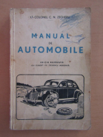 Anticariat: C. N. Zegheru - Manual de automobile