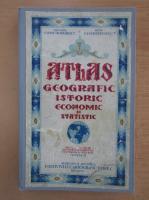 Anticariat: Constantin Teodorescu - Atlas geografic, istoric, economic si statistic