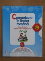Anticariat: Daniela Chindea - Comunicare in limba romana. Caiet de lucru pentru clasa pregatitoare