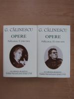 Anticariat: George Calinescu - Opere, volumele 9 si 10 (Academia Romana)