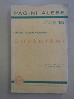 Anticariat: Mihail Kogalniceanu - Cuvantari
