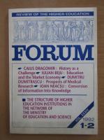 Anticariat: Revista Forum, anul XXXIV, nr. 1-2, 1992