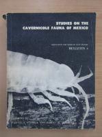 Anticariat: Studies on the Cavernicole Fauna of Mexico, bulletin 4