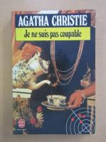 Anticariat: Agatha Christie - Je ne suis pas coupable
