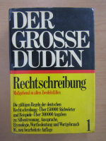 Der Grosse Duden, volumul 1. Rechtschreibung