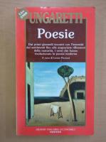 Anticariat: Giuseppe Ungaretti - Poesie