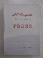 Ion Luca Caragiale - Prose (volumul 2)
