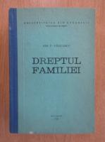 Ion P. Filipescu - Dreptul familiei