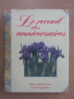 Anticariat: Le recueil des anniversaires
