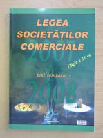 Legea societatilor comerciale 2007-2008