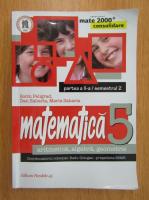 Sorin Peligrad - Aritmetica, algebra, geometrie. Clasa a V-a, partea a II-a