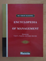Anticariat: The Concise Blackwell Encyclopedia of Management