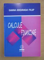 Anticariat: Diana Andrada Filip - Calcule financiare
