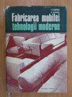 Anticariat: I. P. Florescu, D. Nicoara - Fabricarea mobilei tehnologii moderne