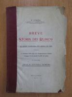 Anticariat: N. Iorga - Breve. Storia dei Rumeni