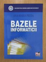Ana Maria Preda - Bazele informaticii