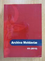 Anticariat: Archiva Moldaviae (volumul 7)
