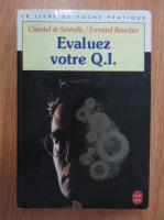 Chantal de Sereville - Evaluez votre Q. I.