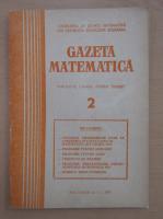 Anticariat: Gazeta Matematica, anul LXXXII, nr. 2, 1977