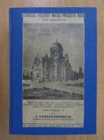 Anticariat: I. Constantinescu - Istoricul Bisericii Maica Precesta Dudu din Craiova (volumul 2)