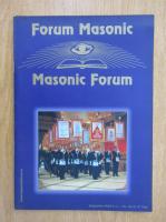 Anticariat: Revista Forum Masonic, anul IV, nr. 16, septembrie 2003